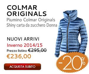 Piumino Colmar Originals Shiny carta da zucchero Donna in offerta a 236,00€ da Botteroski