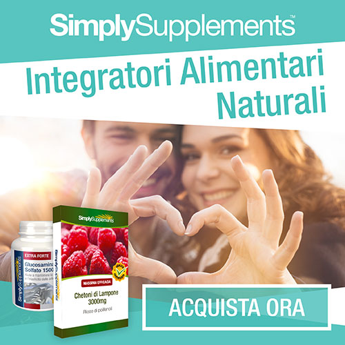 Integratori Alimentari Naturali Simply Supplements.