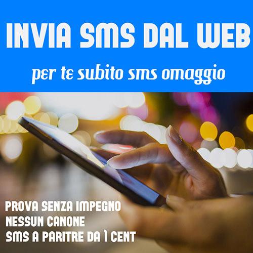 Invia SMS dal WEB