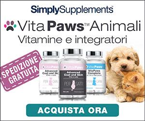 VitaPaws vitamine e integratori per cani e gatti