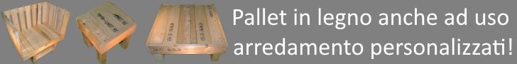 Pallet in legno personalizzati!