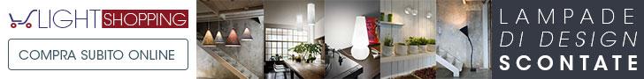Light Shopping - L'illuminazione di design che cercavi a prezzi scontati! Scopri il nostro catalogo!