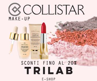 Collistar make-up sconti fino al 20%