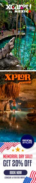 Memorial Day at Xcaret 20% off