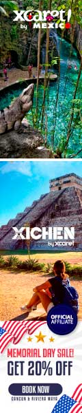 Memorials Day on Xcaret 20% off