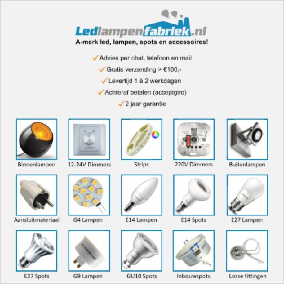 Klik hier voor de korting bij Ledlampenfabriek.nl