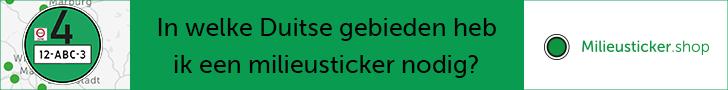 Duitse milieusticker nodig?