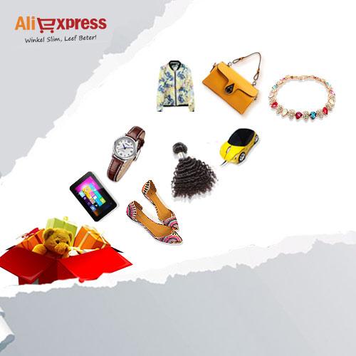 Ali Express, winkel slim, leef beter