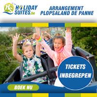 Overnacht in één onze comfortabele vakantieverblijven en ontvang gratis Plopsaland De Panne tickets voor het volledige gezin.