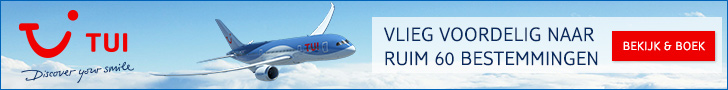 TUI vliegtickets aanbiedingen voor zonvakanties in 2021