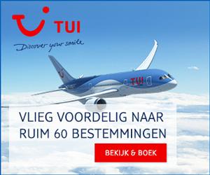 Voordelig vliegen met TUI