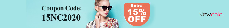 15% Off on Newchic affiliate coupon banner