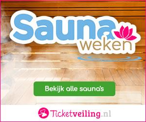 Saunaweken bij Ticketveiling.nl