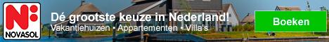 NOVASOL Vakantiehuizen in Nederland