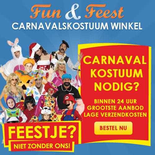 Klik hier voor de korting bij Carnavalskostuumwinkel