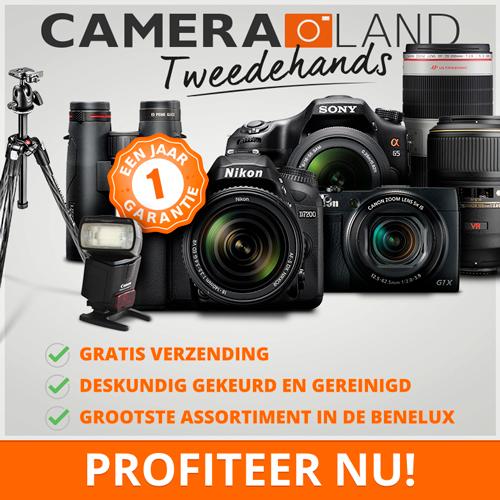 Klik hier voor de korting bij Cameraland.nl