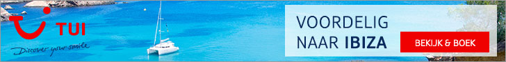 TUI zonvakanties Ibiza 2021 - Spanje