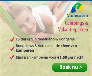 Campings en vakantieparken van Molecaten