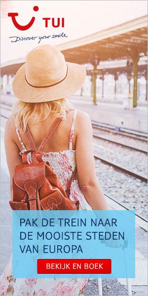 Pak de trein naar de mooiste steden van Europa