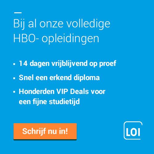 LOI Hogeschool, groot in HBO-onderwijs