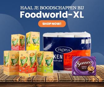 Haal je boodschappen bij Foodworld-XL