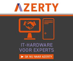 Klik hier voor de korting bij Azerty.nl
