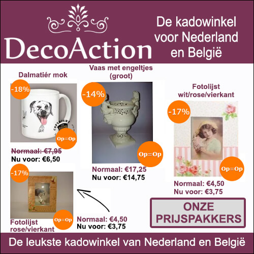 De leukste aanbieding bij DecoAction.nl