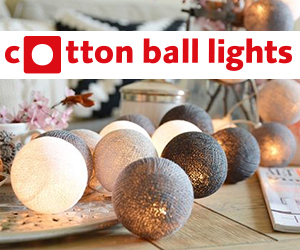 Lichtslingers Cotton Ball Lights