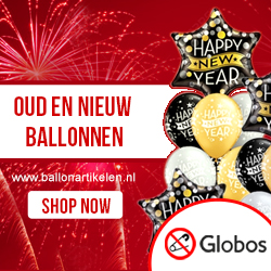 Happy New Year Ballonnen