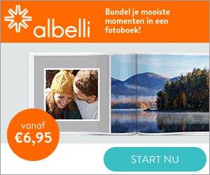 Scherpe Albelli actie! Al je vakantie foto's in een prachtig Albelli fotoboek. Met de code 26GRADEN ont van 26% korting op alle Albelli producten. Beste kwaliteit voor de laagste prijs.