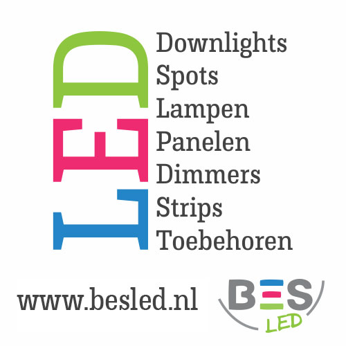 Besled.nl – Hoge kortingen tot 40% op LED spots en downlights