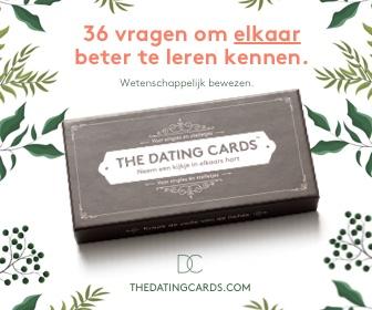 36 vragen om elkaar beter te leren kennen - The Dating Cards