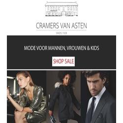 Klik hier voor de korting bij Cramersvanasten.nl