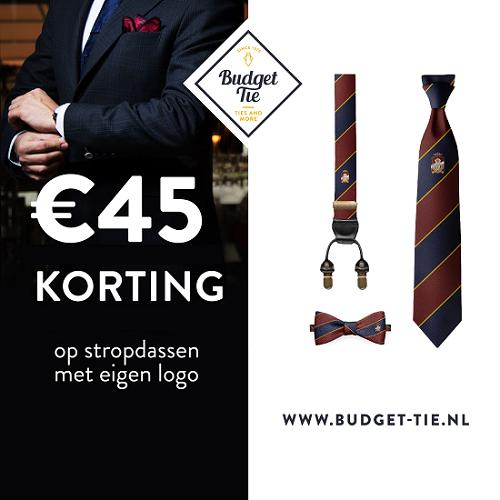 Klik hier voor de korting bij Budget-tie.nl