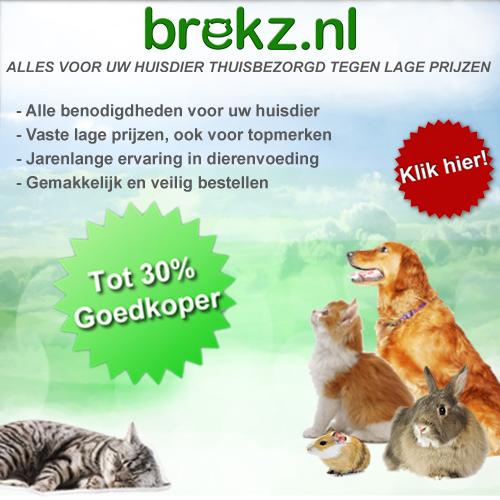 Brekz | Goedkoopste Online dierenwinkel | 30% goedkoper!