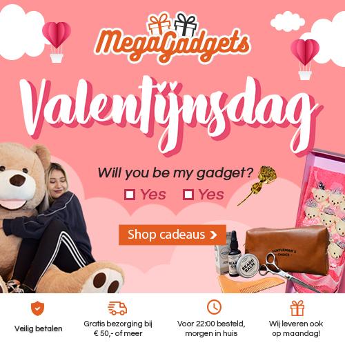 Originele Valentijnscadeaus bij MegaGadgets!