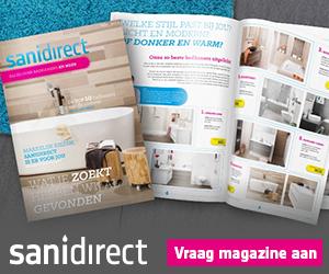 Gratis badkamer inspiratiemagazine van Sanidirect