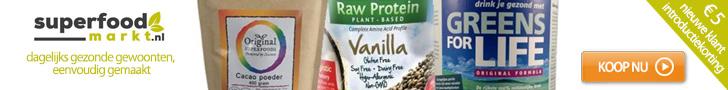 Superfoods, supplementen en natuurvoeding