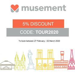 Musement NL – Februari korting