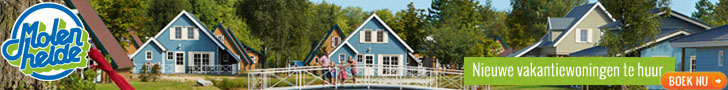 Ontdek de nieuwe vakantiewoningen op bungalowpark Molenheide
