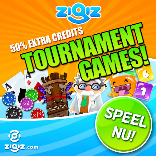 Speel Tournament games op Zigiz!
