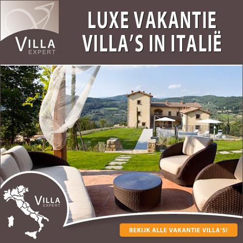 Luxe villa's huren vakantie Toscane 2018