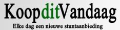 Klik hier voor de korting bij Koopditvandaag.nl