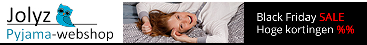 Horizontaal vrouw 728x90 black friday Pyjama-webshop