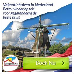 Vakantiehuizen nederland 2015