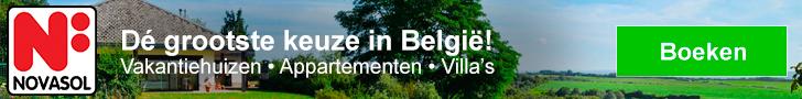 NOVASOL Vakantiehuizen in België