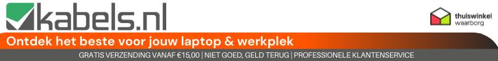 Ontdek het beste voor jouw laptop & werkplek bij Kabels.nl
