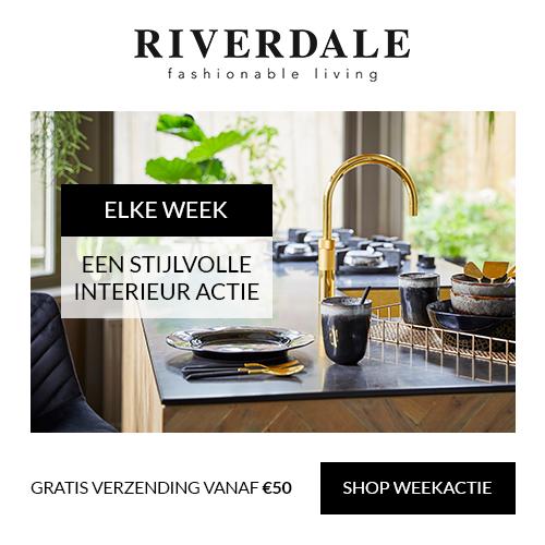 Riverdale | Eetkamerstoelen: 25% korting