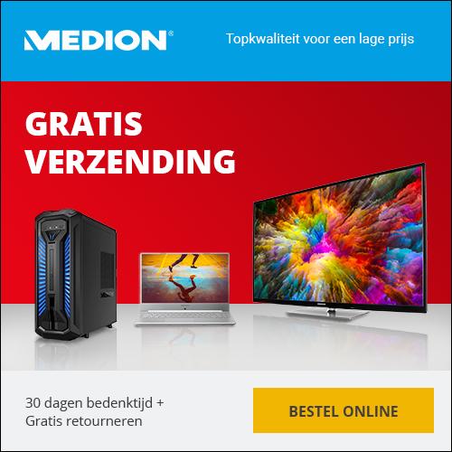 Ontvang gratis verzending op je bestelling bij Medion
