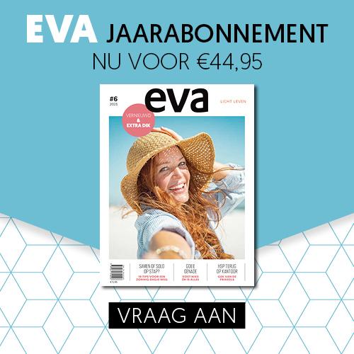 1 jaar Eva Magazine + gratis CD Sela Thuis en leren wikkelarmband